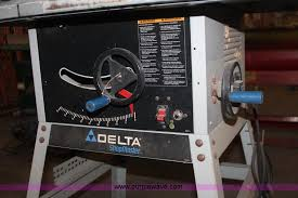 Shopmaster Table Saw Delta Shopmaster Table Saw Item An9664 Sold September 1