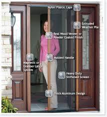 Patio Door Insect Screen Best 25 Fly Screen Doors Ideas On Pinterest Diy Interior Screen