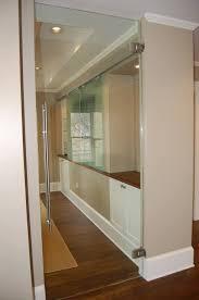 Interior Swinging Doors Heavy Glass Frameless Doors Anchor Ventana Glass