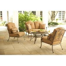 Martha Stewart Living Patio Furniture by Martha Stewart Living Miramar Ii 4 Piece Patio Seating Set With