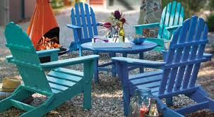 outdoor furniture wood or recycled plastic vermont woods studios