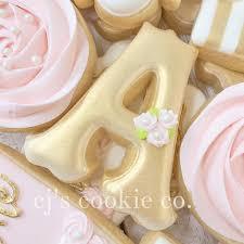 initial cookies cookies initial monograms pinterest initials