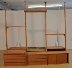 Modular Room Divider A Paul Cadovius Ash Modular Shelving Room Divider Unit
