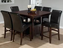 tall white kitchen table high kitchen tables table plans 7 piece counter height dining set