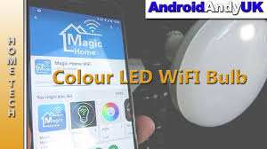 Led Wifi Light Bulb by Wasserstein Wifi Colour Led Light Bulb Youtube