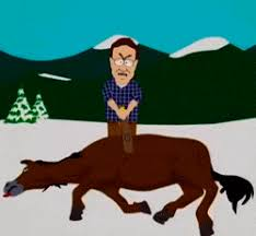 Beating A Dead Horse Meme - beating a dead horse south park gif beating a dead horse know