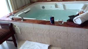 royal cancun hotel in room jacuzzi youtube