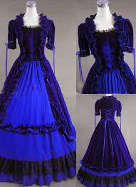 classic blue gothic victorian dress vugv2365 219 98 cheap