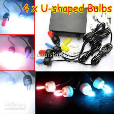 strobe lights for car headlights 4 x car led bulbs flash strobe light headlights 12v multi function u
