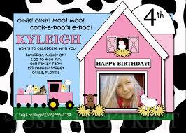 barnyard birthday invitations u2013 gangcraft net