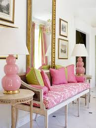 Pink And Green Bedroom - bhg style spotters