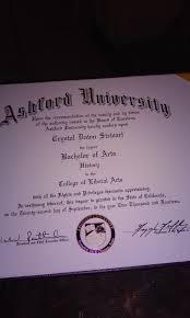 my ba diploma from ashford university ashford university