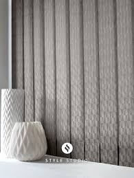 Living Room Curtains Blinds Vertical Blind By Eclipse Vector Concrete Fabric Vertical