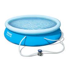 Intex 12x30 Pool Bestway Fast Set Pool Set 12 Feet X 30 Inches Contents Pool