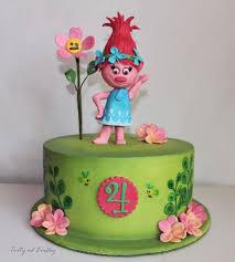 poppy troll cake by cakes by evička cakesdecor
