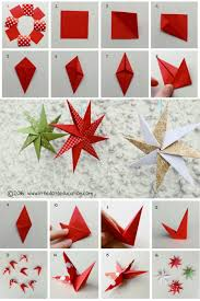 christmas craft to make paper stars these diy paper stars are so