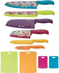 farberware kitchen knives deals on farberware color 16 pc knife set
