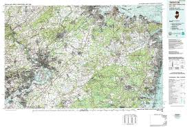 Map Of New Jersey And Pennsylvania by New York Topo Maps Topographic Maps 1 100 000