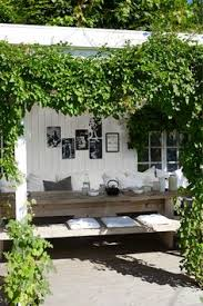 pergola balkon sitting in the small backyard that s one of the things gardening