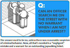 Free Bench Warrants Search - supreme court says illegal police stops are ok as long as they