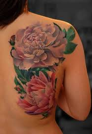 70 real best peony tattoo designs golfian com