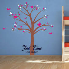 compare prices on owl baby nursery wall stickers online shopping huge tree owl birds wall sticker nursery wall art baby children kids room wall decal personality