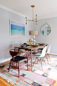 Dining Room Sets Los Angeles Los Angeles Mid Century Chair Dining Room Contemporary With Indigo