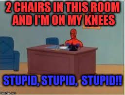 Computer Flip Meme - opulent ideas spiderman desk meme computer imgflip desk