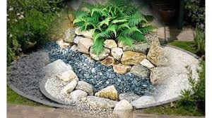small rock gardens ideas exotic rock garden designs youtube