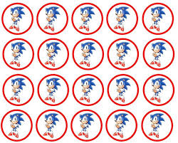 7 images sonic birthday printables sonic hedgehog