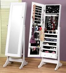 Jewelry Storage Cabinet Best 25 Mirror Jewelry Storage Ideas On Pinterest Diy Within