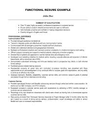 exles of a functional resume summary of resume sle diplomatic regatta