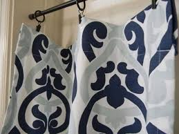 Navy And Grey Curtains Interesting Navy And Grey Curtains And Blue Curtains