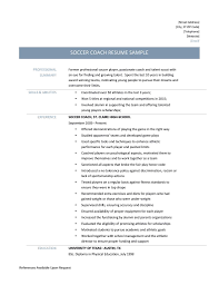 Acting Resume Sample No Experience Soccer Resume Samples Resume Cv Cover Letter