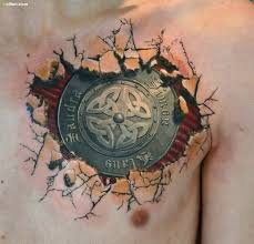 ripped skin tattoos