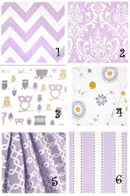 Purple Curtains For Nursery 173 Best Home Nursery Images On Pinterest Child Room Baby Room