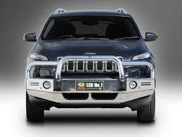 2015 jeep cherokee light bar jeep cherokee ecb alloy bullbar nudge bars bull bars series kl to