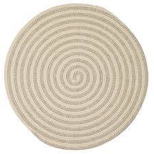 Braided Rugs Round by Home Decorators Collection Charmed Light Gray 10 Ft X 10 Ft