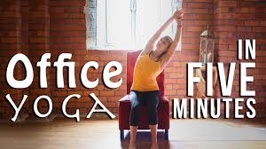 Crest Office Furniture Office Yoga At Your Desks From Furniture At Work Youtube