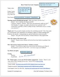 free download donation thank you letter template