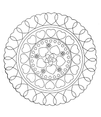 pages to color for adults to print this free coloring page free mandala to color hearts