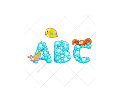 font vector pack royalty free vectors alphabet abc letter