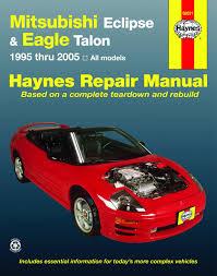 amazon com haynes repair manuals mitsubishi eclipse u0026 eagle talon