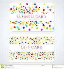 gift card business colorful business gift card template abstract royalty free