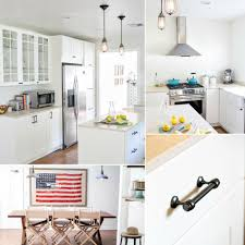 ikea cafe style kitchen remodel popsugar home