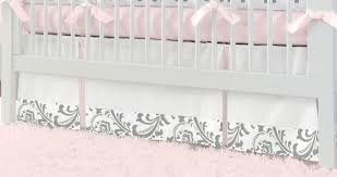 spectacular pink and gray elephant crib bedding m50 about