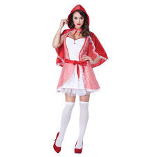 red riding hood halloween costumes totally ghoul women u0027s sassy couples miss red riding hood halloween