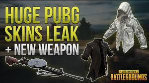 pubg skins huge pubg skins leak new weapon vehicles pubg news youtube