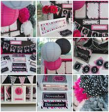 Pink Black Bedroom Decor by Bedroom Pink Black Gray Classroom Theme And Decor By