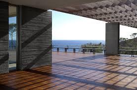 modern contemporary rooftop balcony design with wooden floor tiles